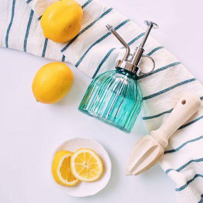 Lemon Homemade Cleaners