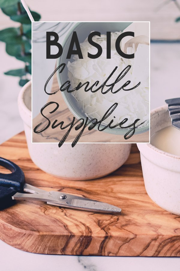 Your choice of wax, wick, container, and scent all add into the factor of a great candle. Learn how to start with basic candle making supplies and move to creating custom candles.