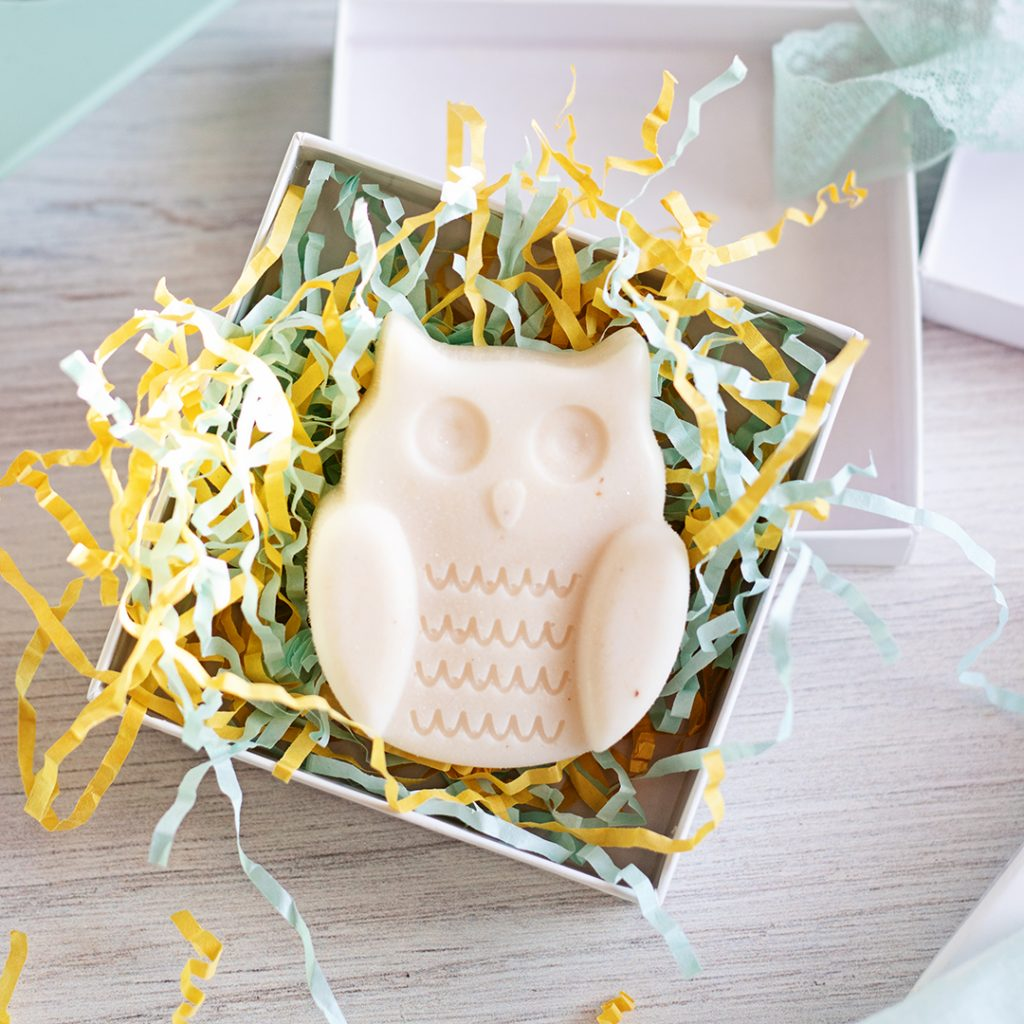 You can't go wrong making these adorable Owl Goat Milk And Honey Soap teacher gifts. With just 2 ingredients the process is ultra-quick! So, your kids can take part in making a unique teacher gift and get back to playing.