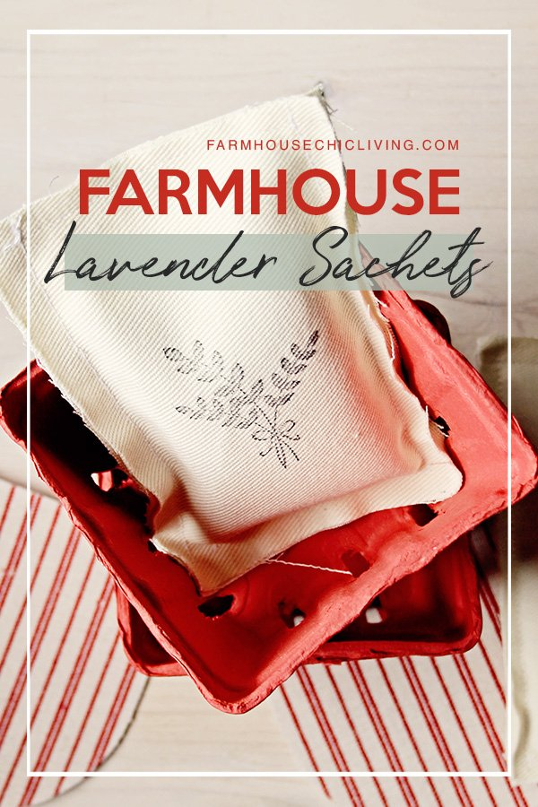 Lavender sachets use extend beyond the guest room and gift-giving. Here's a handful of ways we use lavender sachets in our farmhouse.