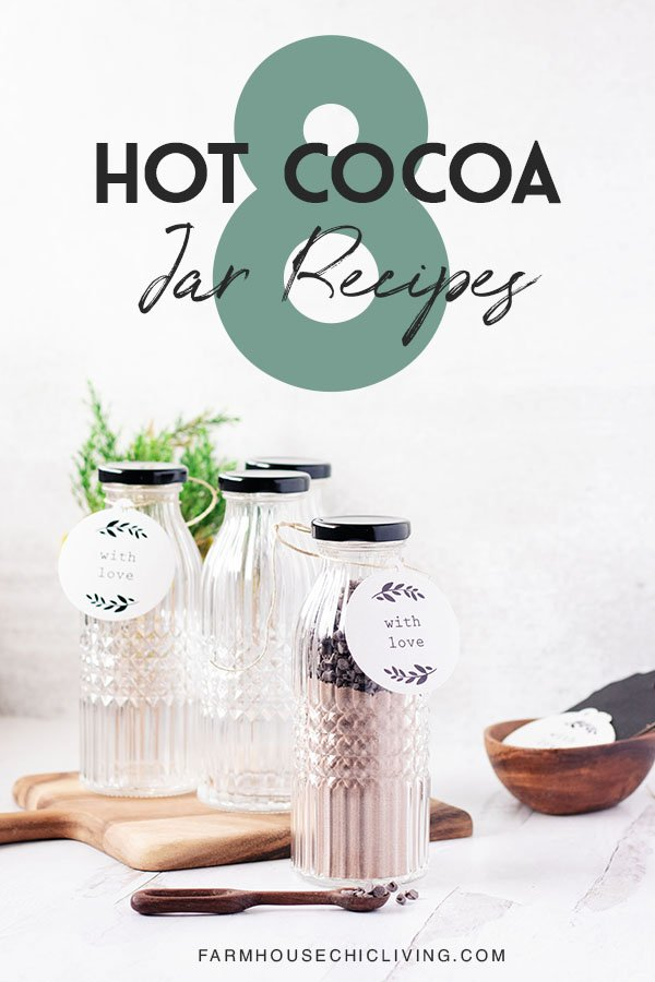 With just a few twists you can alter this homemade hot cocoa recipe to the likes of any taste bud. Here's how to create eight different hot cocoa flavors for gifts in a jar.