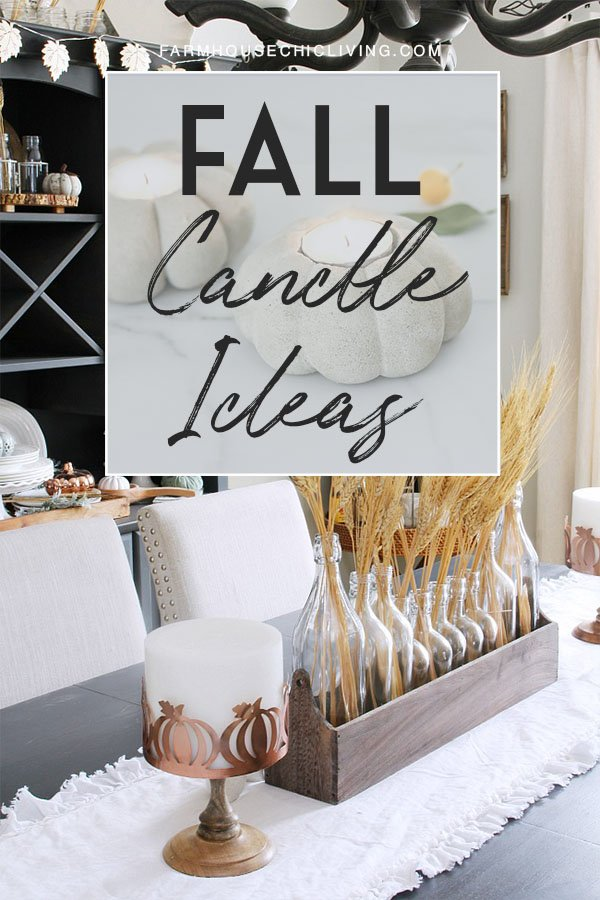 Are you planning to give your home a style refresh this season? Don't forget the fall candles!