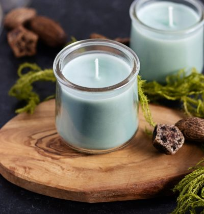 Farm fresh pine candles make the perfect DIY Christmas candles or handmade gift for him anytime of the year.