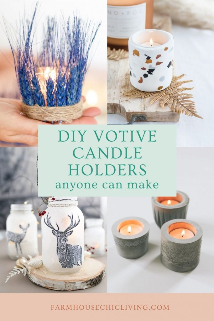 If you ask me, there's nothing cozier than a grouping of candles. And these creative candle decorating ideas for votive candle holders are easy to DIY.