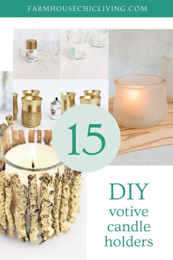 Need some votive candle holder ideas? Look no further than these 15 creative candle decorating ideas for any space.