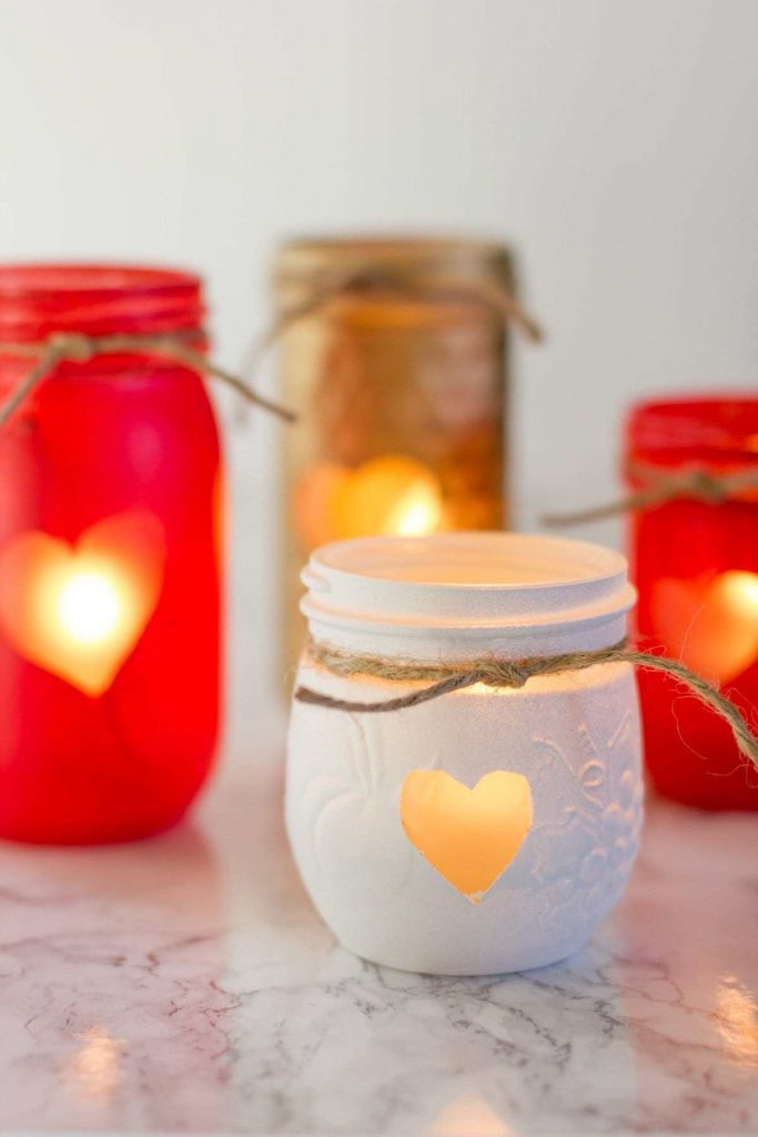 If you are on the hunt for a cheap candle holder idea you'll love these!